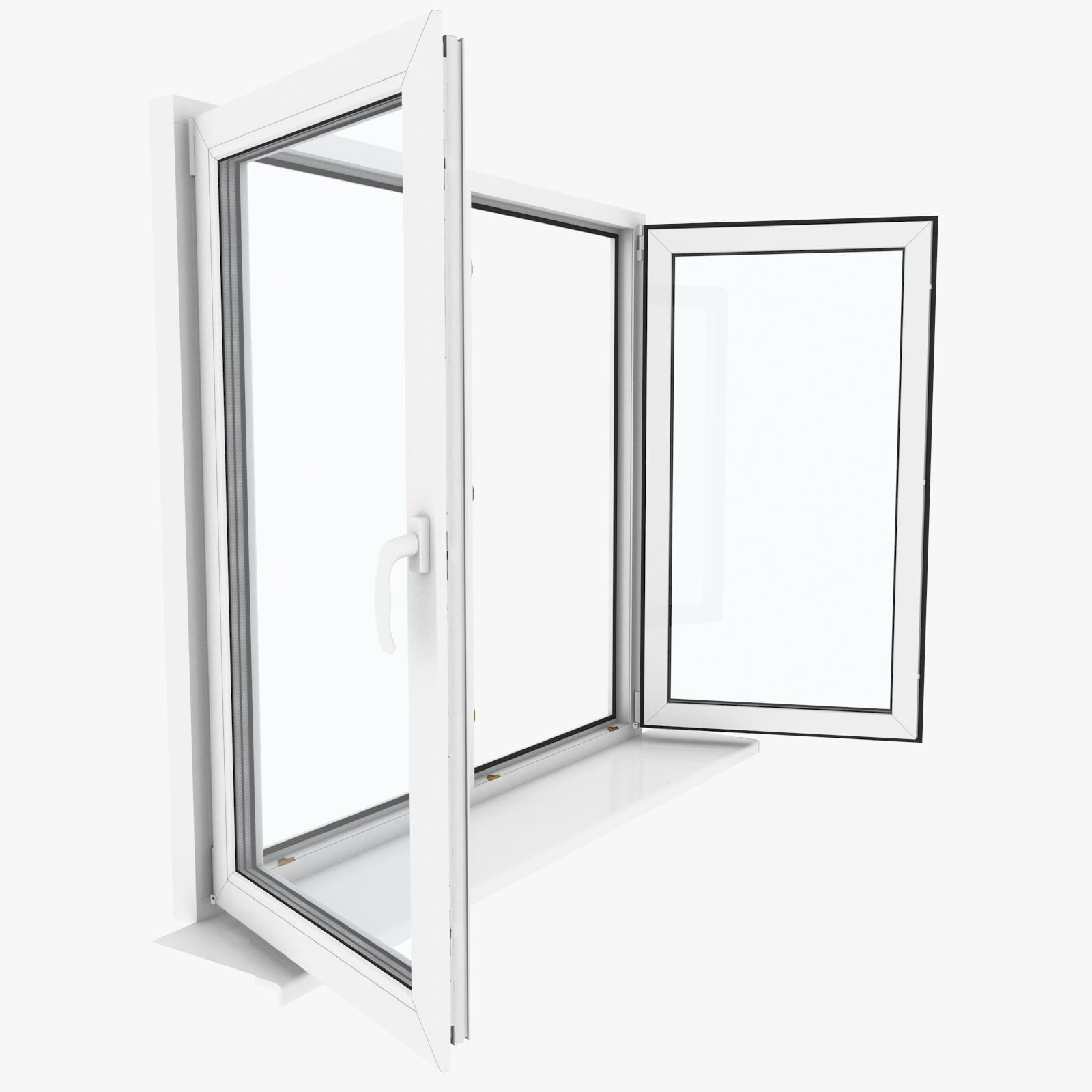 how a casement window opens