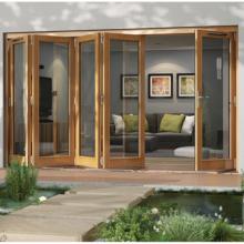 Jeld-wen Canberra Oak Folding Patio Doors 3600mm