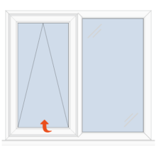 Upvc Casement Window Top Hung/Fixed