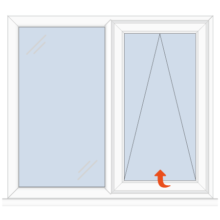 Upvc Casement Window Fixed/Top Hung