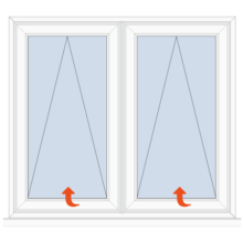 Upvc Casement Window Top Hung/Top Hung