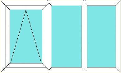 Top Hung-Fixed-Fixed window