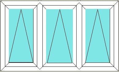 Top Hung-Top Hung-Top Hung window