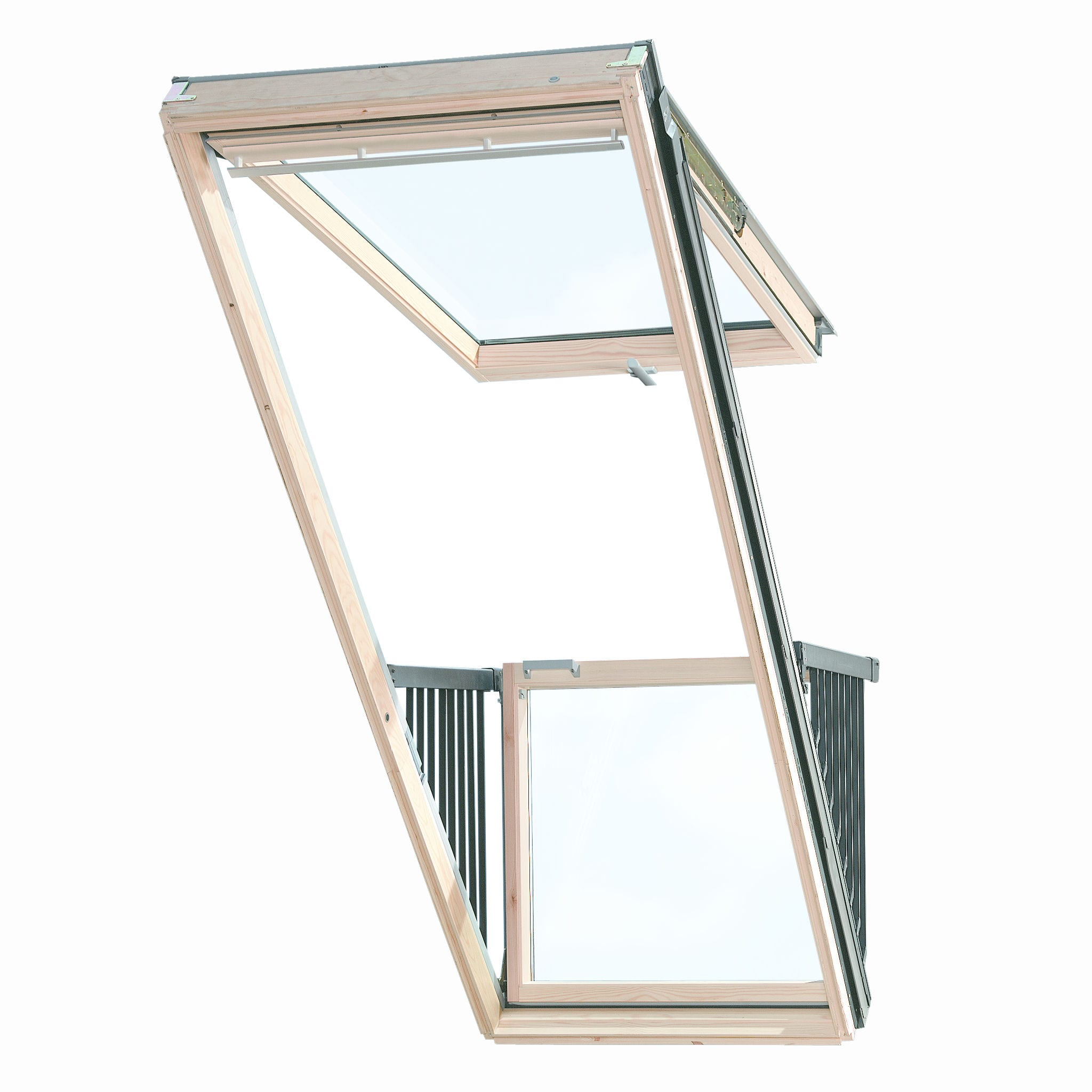 Velux Cabrio Balcony Gdl Sd0w1 94cm W X 252cm H Doors Windows Stairs