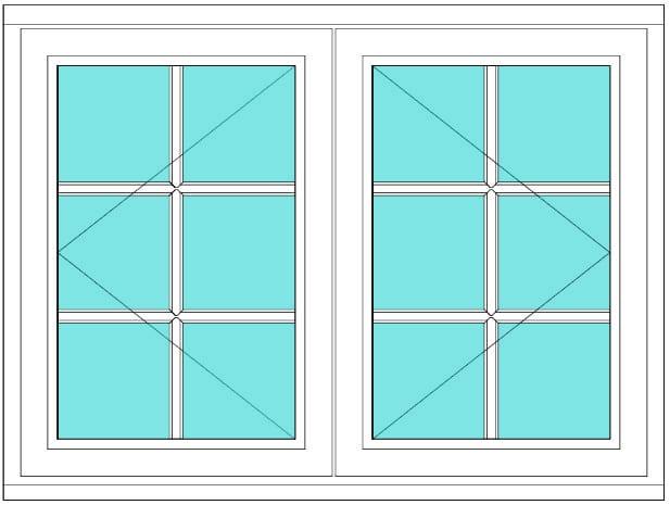 All Bar Casement open open window