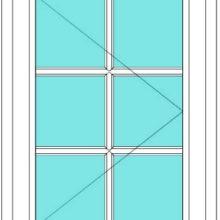 All Bar Casement right window