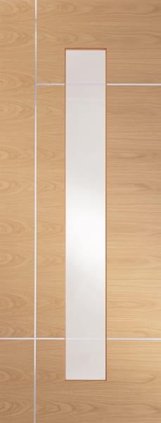 Caserta Oak with clear glazing