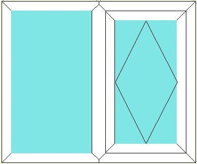 Fixed - Reversible window