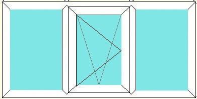 Fixed-Tilt Turn Left-Fixed window