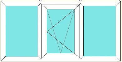 Fixed-Tilt Turn Right-Fixed window