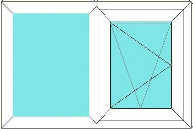 Fixed - Tilt and Turn window