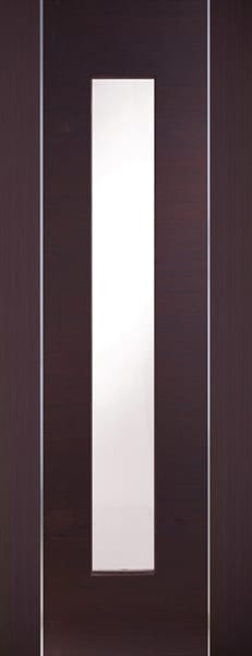 Forli Wenge with clear glass