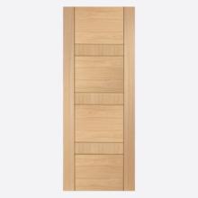 Latina Oak Un-finished Door