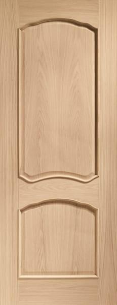 Louis Oak unfinished door