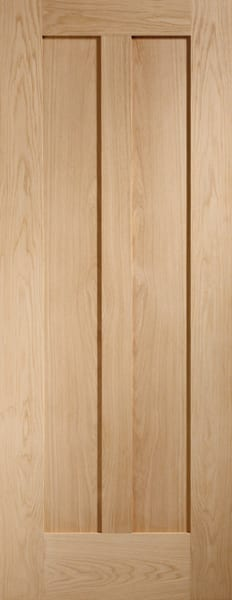 Novarra oak unfinished door
