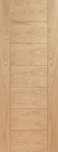 Palermo Oak unfinished fire door