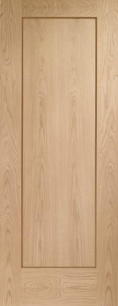Pattern 10 Oak unfinished door