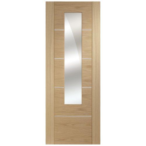 XL Joinery Portici Oak Glazed Door