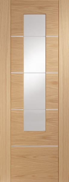 Portici Oak with clear glass