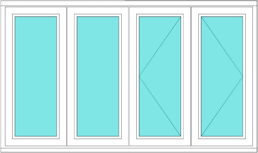 Timber Casement Fixed Fixed Open Open Doors Windows Stairs