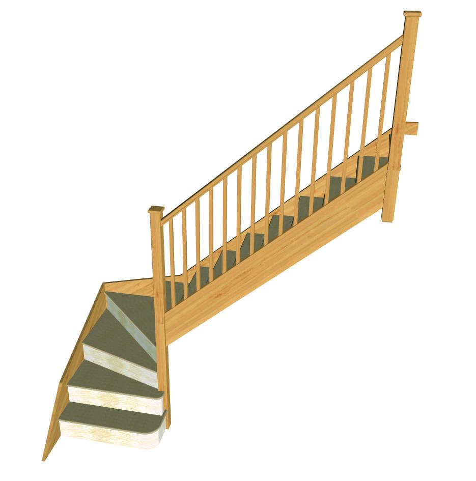Stair layout diagram M