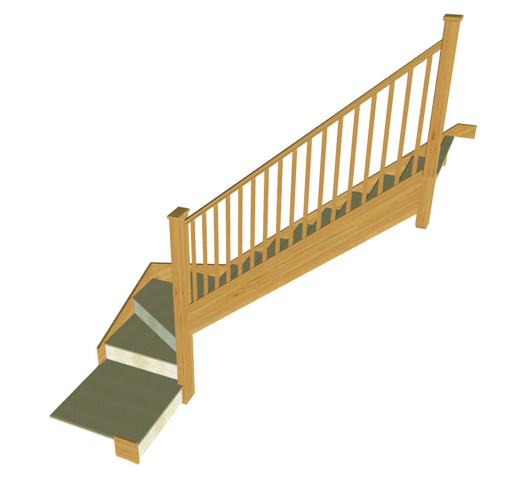 Stair layout diagram Q