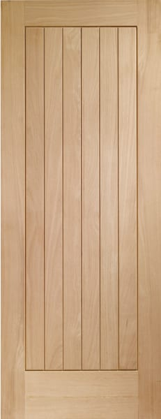 Suffolk Oak unfinished door