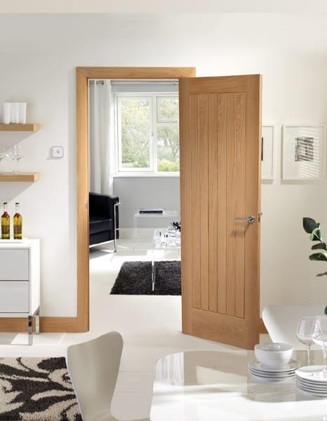 Suffolk oak door set shot