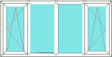 Tilt Turn -Fixed-Fixed-Tilt and Turn window