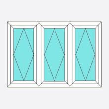 Upvc Fully Reversible Window Open/Open/Open