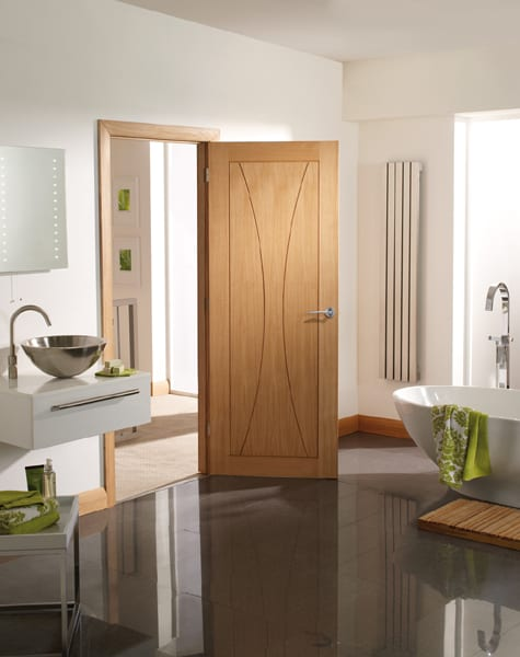 Verona Oak door set shot