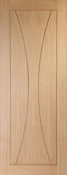 Verona unfinished oak door