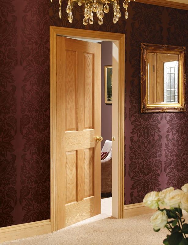 Victorian Oak 4 panel nrm set shot