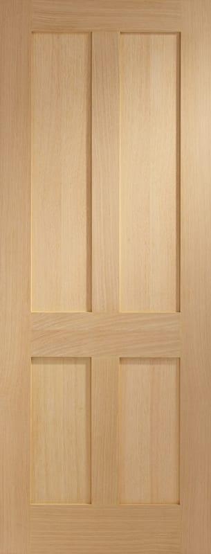 XL Victorian Shaker Unfinished Oak Door