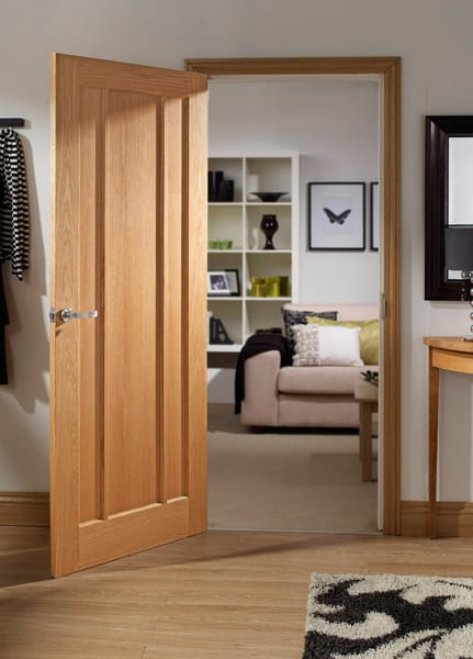 Worcester oak door set shot