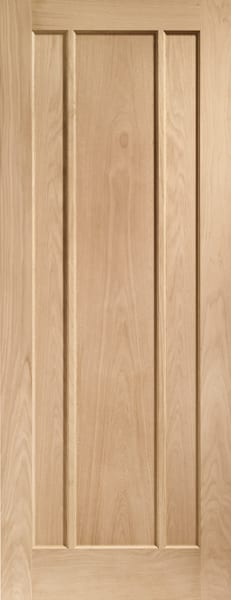 Worcester unfinished oak door