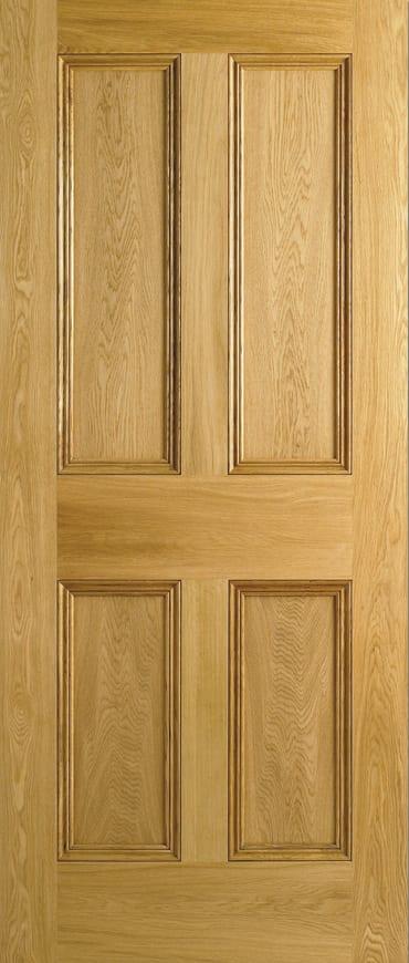 Lpd 4 Panel Oak Door Unfinished Doors Windows Stairs