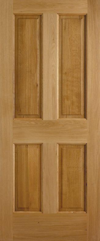 LPD Adoorable Oak Colonial 4 panel Door