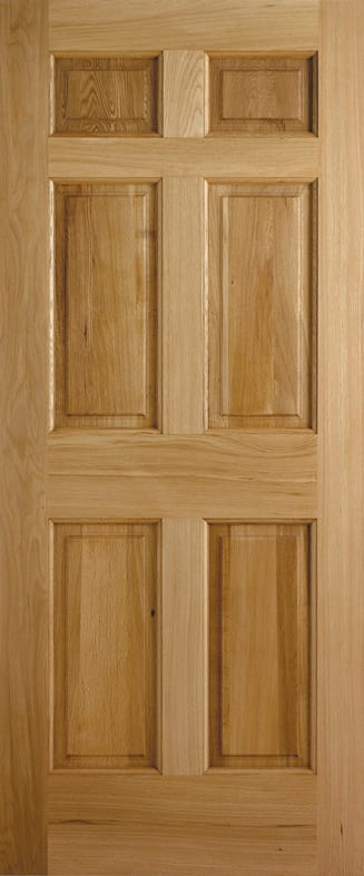 LPD Adoorable Oak Colonial 6 panel Door