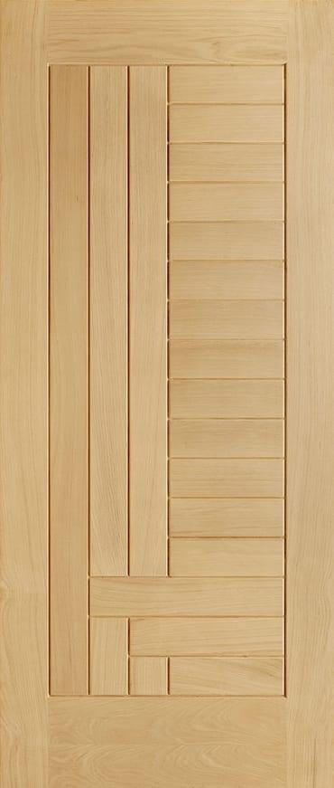 Oak Inca door