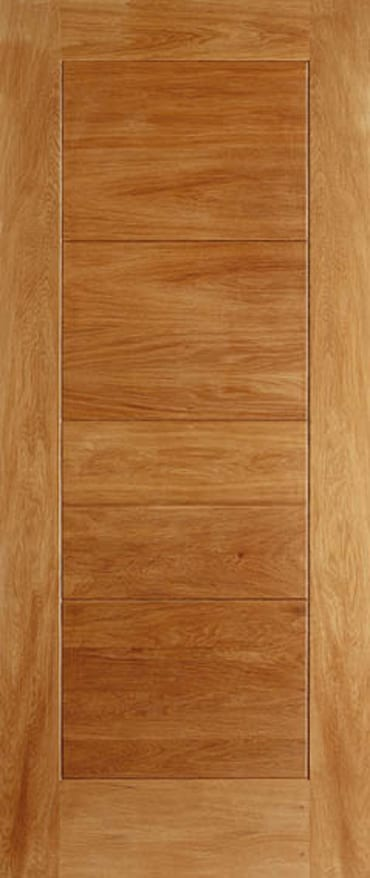 Oak modica door