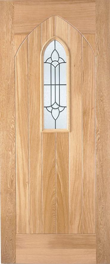 LPD Oak Westminster Door