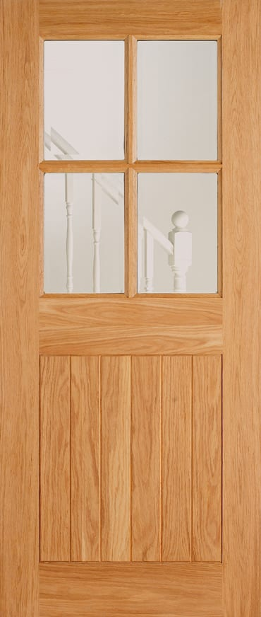 LPD Adoorable Oak cottage 4 light door
