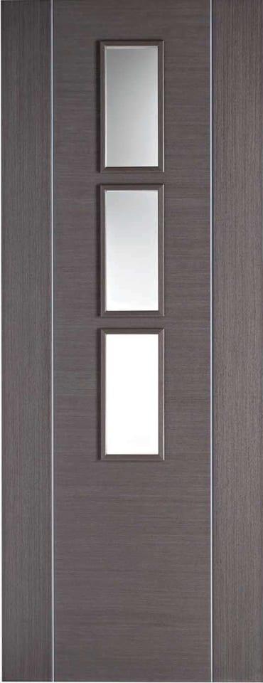 LPD Alcaraz Glazed Chocolate Grey Door