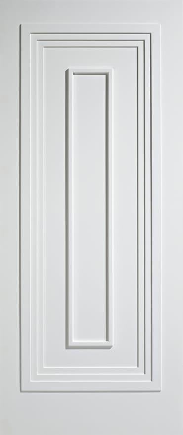 LPD Atlanta white primed door