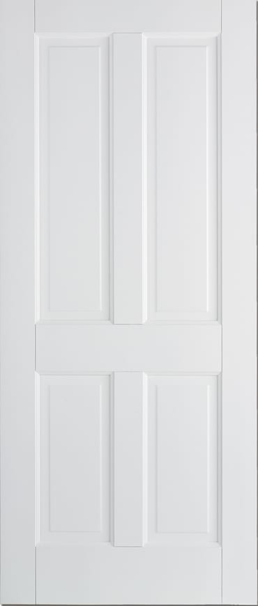 LPD Canterbury 4 panel white primed door