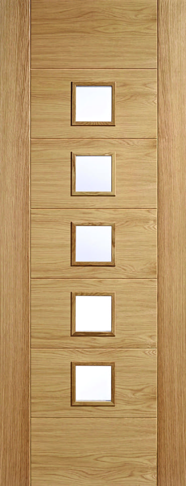 LPD Carini 5L unfinished Oak door