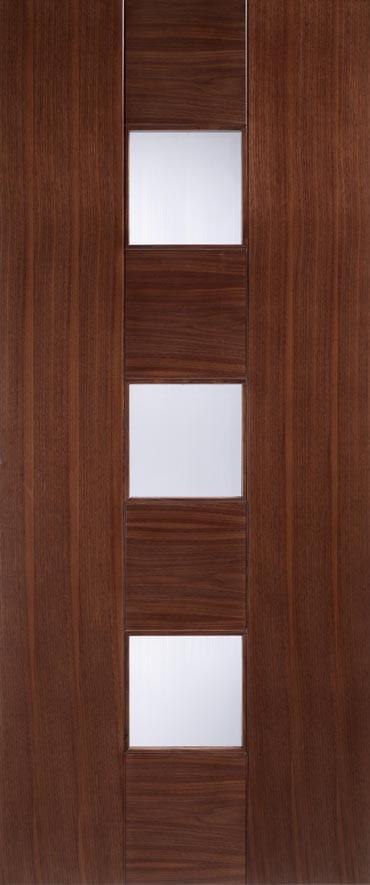 LPD Catalonia Glazed Walnut door