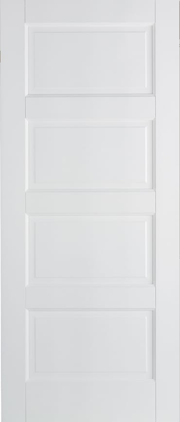 LPD Contemporary 4 panel white primed door