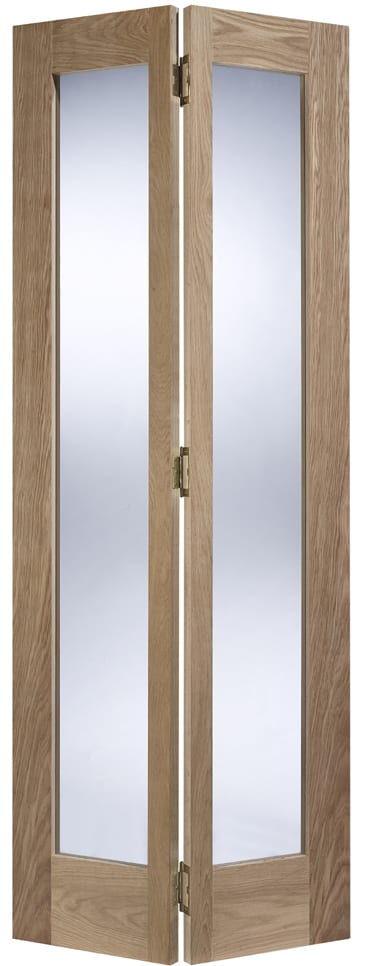 LPD pattern 10 oak bi fold door